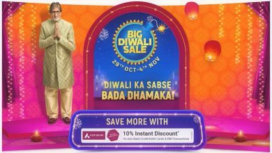 Photo of Flipkart Big Diwali Sale 29 Oct – 4 Nov 2020 : Save More With 10% Instant Discount on Axis Bank Cards