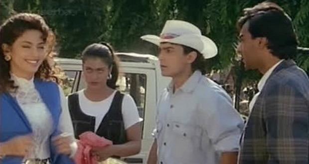 Ishq completes 23 Years, Juhi Shares a Clip to Remember the film with Aamir and Kajol