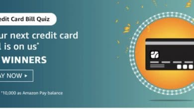 Amazon Credit Card Bill Quiz Play and Get your Credit card bill on us ( 25 Winners )
