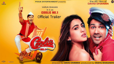 Coolie no 1 trailer released