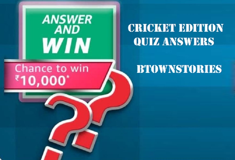 Amazon Cricket Edition Quiz Answers